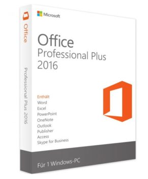 Microsoft Office 2016 Professional Plus (PC)